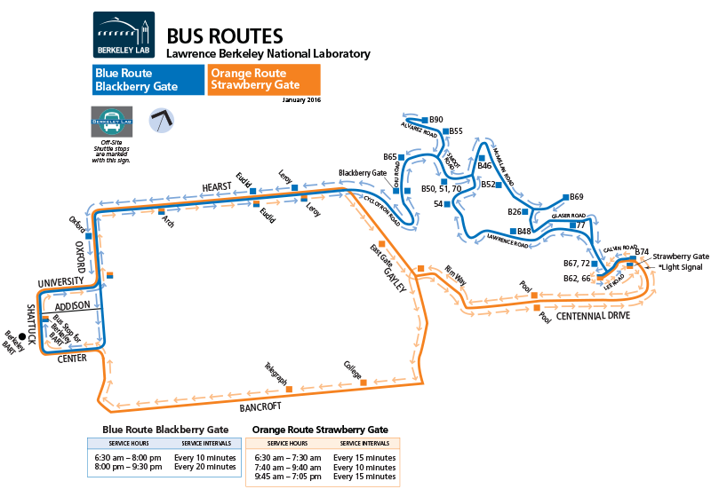 laboratory shuttle bus routes bined routes