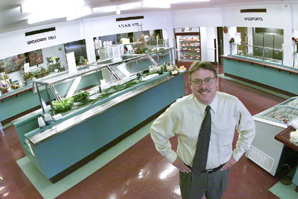 labs new cafeteria manager better communication and more fish