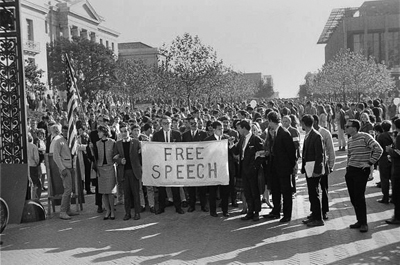 its free speech movement