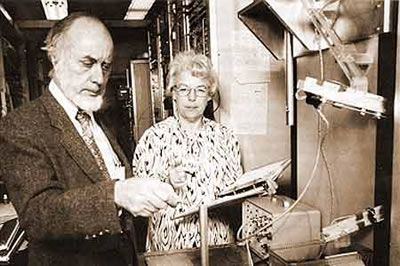 Image of Frank Asaro and Helen Michel