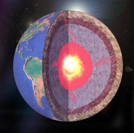 ساختار کره ی زمین