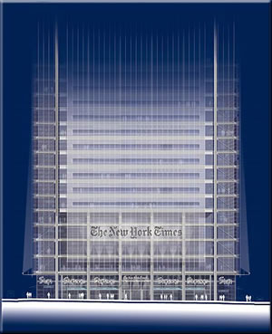 The new york times building designing for energy for Piccoli piani energetici efficienti