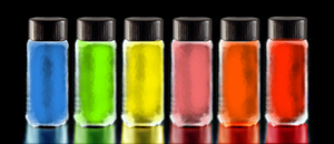 Colors vary with size of quantum dots