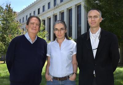 Michael Botchan, Eva Nogales and James Berger
