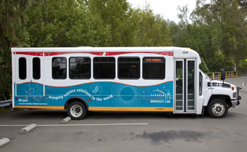 Berkeley Lab Special Bus Shuttle Service Reservations