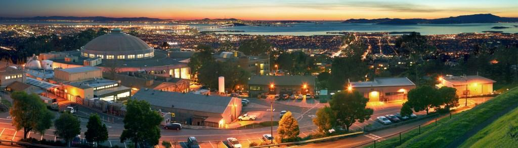 Berkeley Lab at night