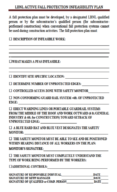 PUB-3000 Chapter 30 | FALL PROTECTION PROGRAM | Revised 10/12