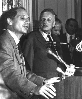 Morris Pripstein and Andrei Sakharov