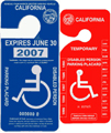 disabled placard