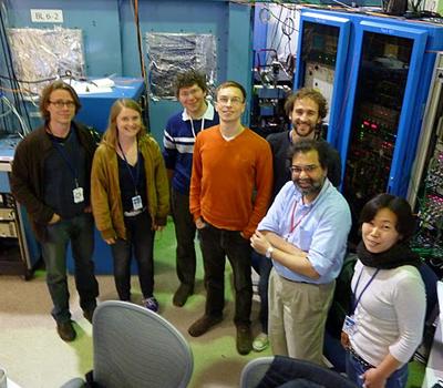 2010 Yachandra Yano Lab Members At SSRL Beamline 6 2